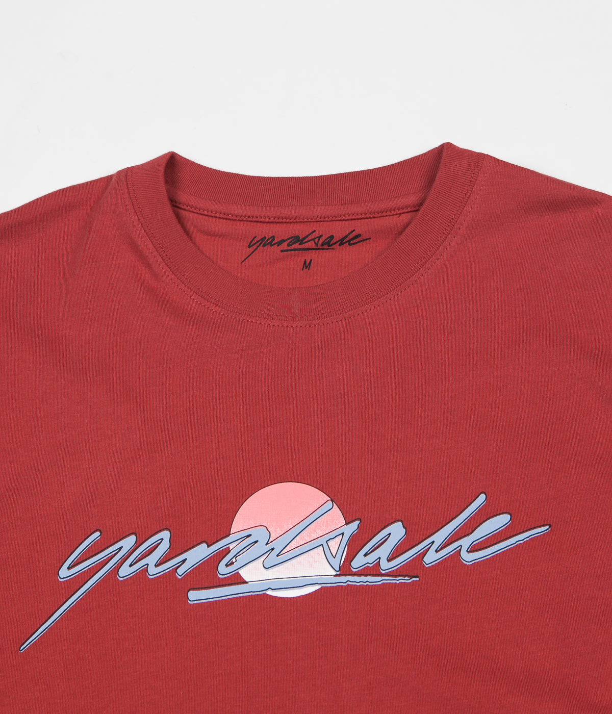 Yardsale Sunscript T-Shirt - Orange