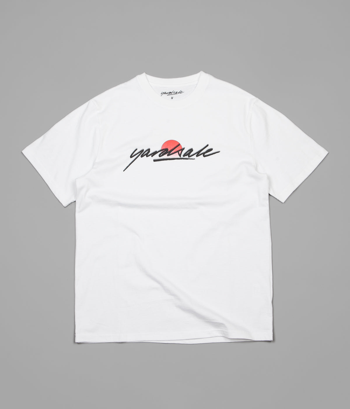 Yardsale Sunscript T-Shirt - White
