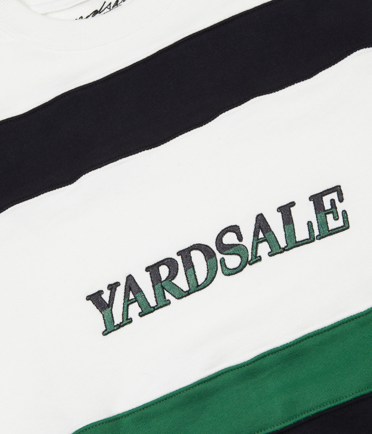 Yardsale Valentine Sweatshirt - White / Navy / Green