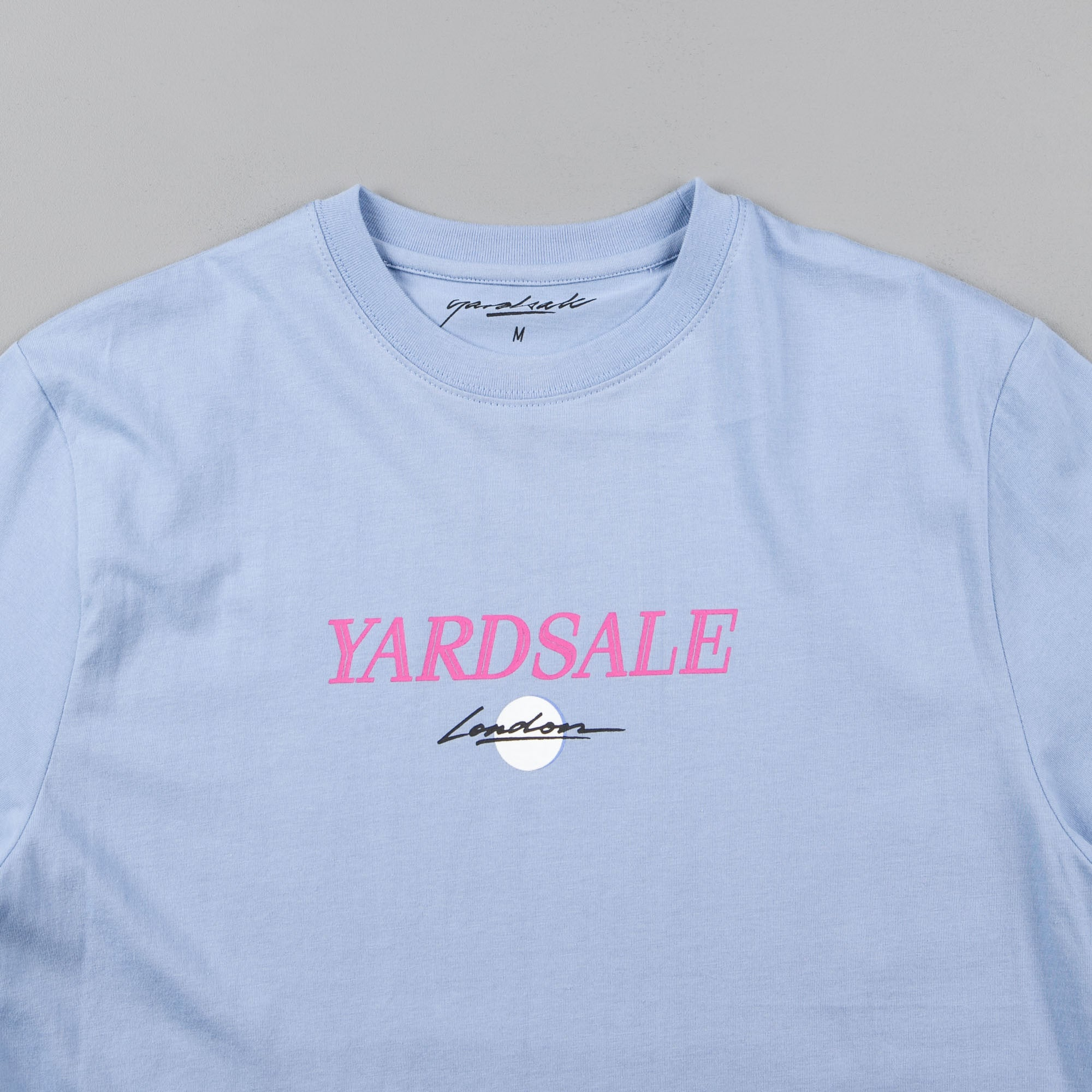 Yardsale Valentine T-Shirt - Baby Blue