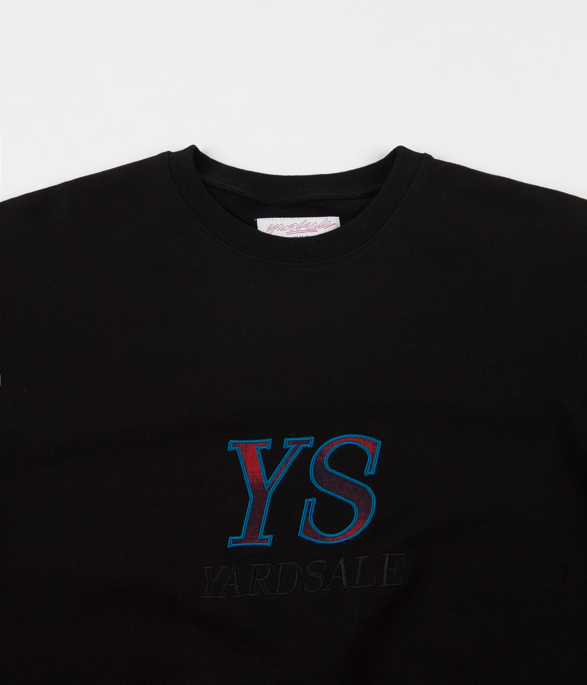 Yardsale YS Tartan Crewneck Sweatshirt - Black