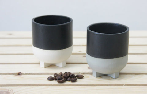 Plus Leg Ceramic espresso cup