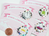 "Princess Party ""Find the Crown"" Scratch-off Game Cards (Set of 24)"