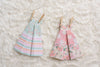Shabby Chic Origami Dresses (Pack of 3)