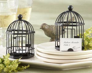 BIRDCAGE TEA LIGHT/PLACE CARD HOLDER