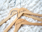 Bridesmaid/Bride Hanger