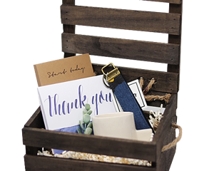 Blue Corporate Gift Box