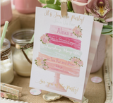 Watercolor Cake Invitation