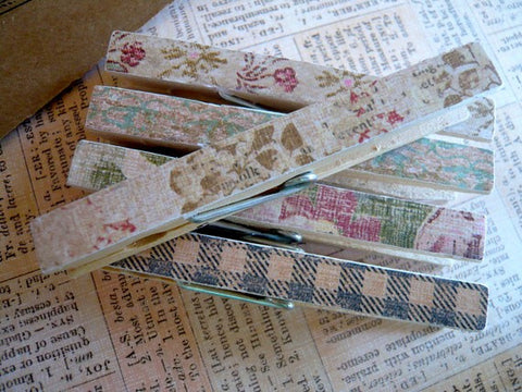 Shabby Chic Designer Pegs - Place card holders