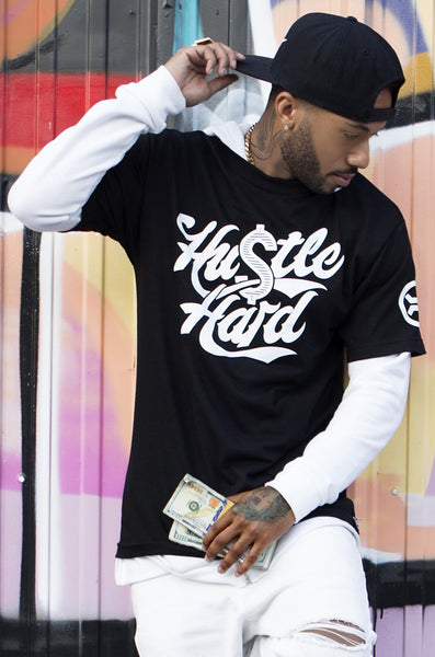 Hustle Hard T-Shirt - R in G