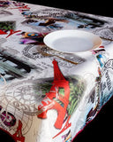 Tablecloth Paris - CLICK IN RED