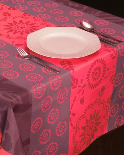 Tablecloth Red Garden - CLICK IN RED