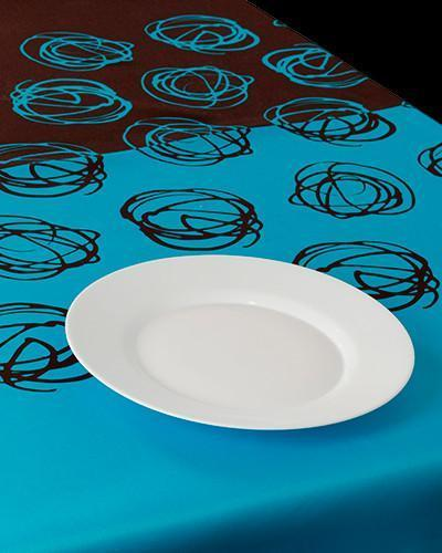 Tablecloth  Blue Nid - CLICK IN RED