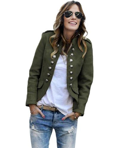 Naval Style Jacket