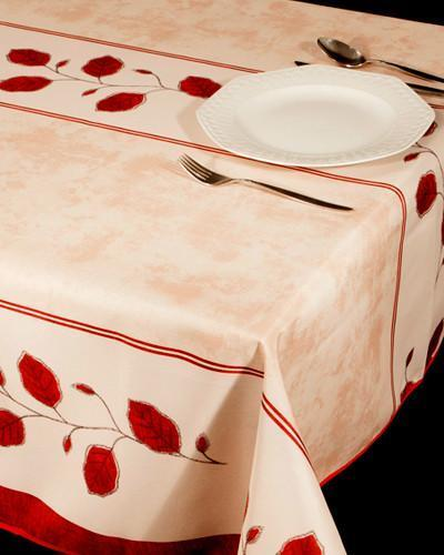 Tablecloth Printemps - CLICK IN RED