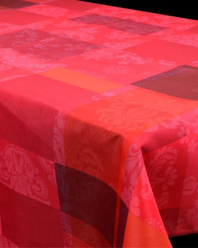 Tablecloth Rose Fantasy - CLICK IN RED