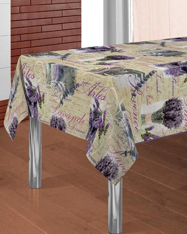 Tablecloth Lavande - CLICK IN RED