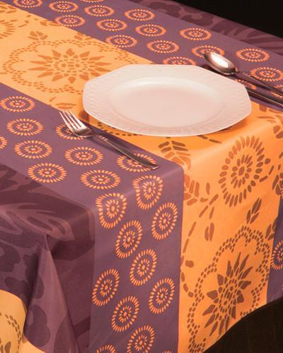 Tablecloth Orange Garden - CLICK IN RED