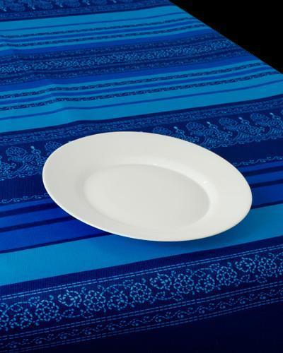 Tablecloth Blue Arabesque - CLICK IN RED