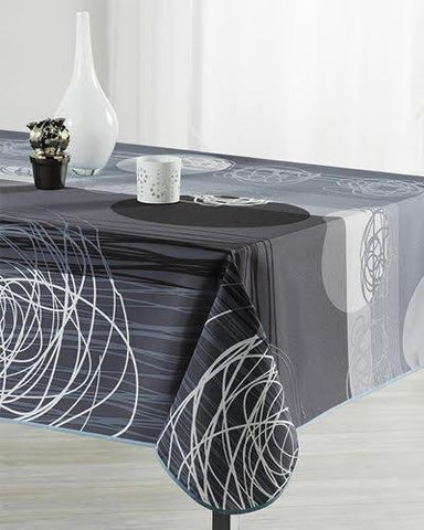 Tablecloth Grey Eclipse