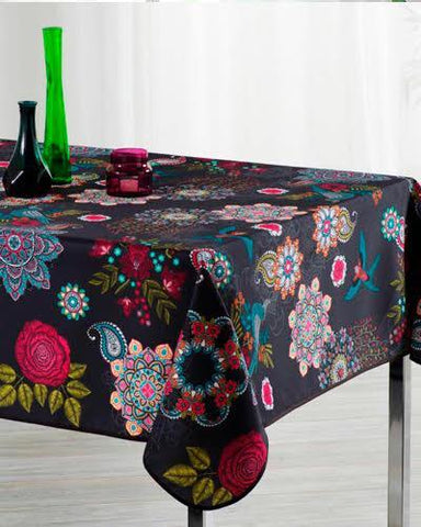 Tablecloth Happy Flowers