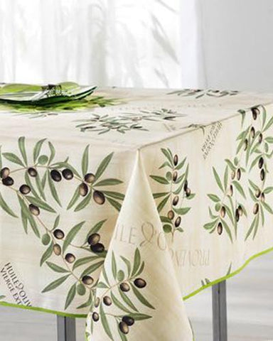 Tablecloth Provence Olive Beige