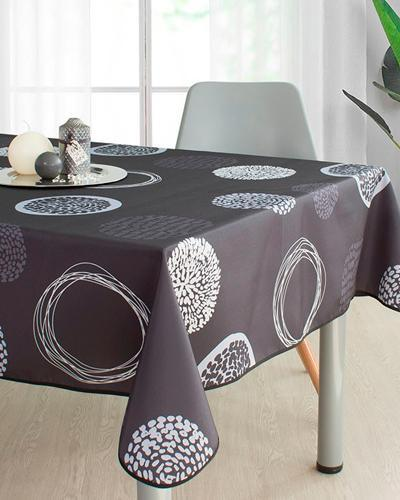 Tablecloth Grey Stamps