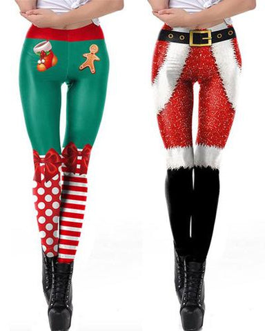 Christmas Leggins