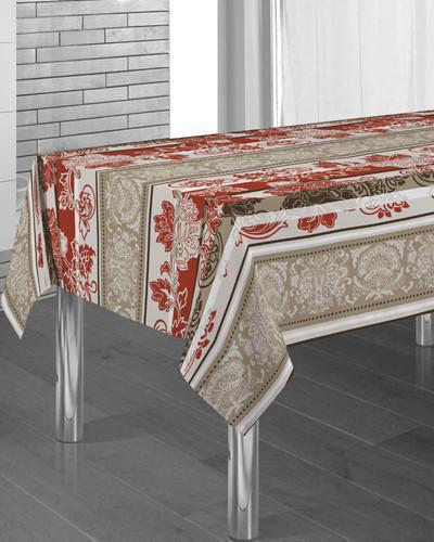 Tablecloth Barroco - CLICK IN RED