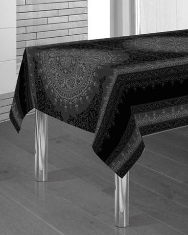 Tablecloth Black Drawing - CLICK IN RED