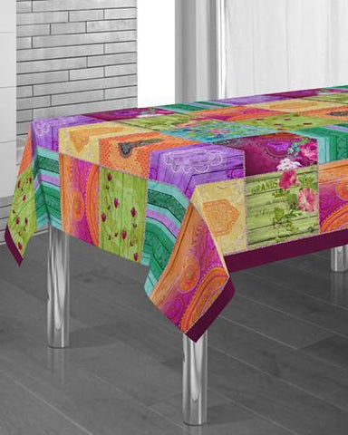 Tablecloth Springie - CLICK IN RED