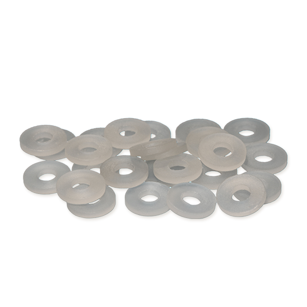 Spinner Washers - Clear