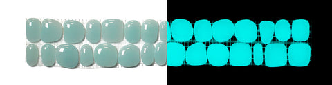 AQUAMARINE Glow-in-the-dark Decorative Listellos / Box of 5 strips