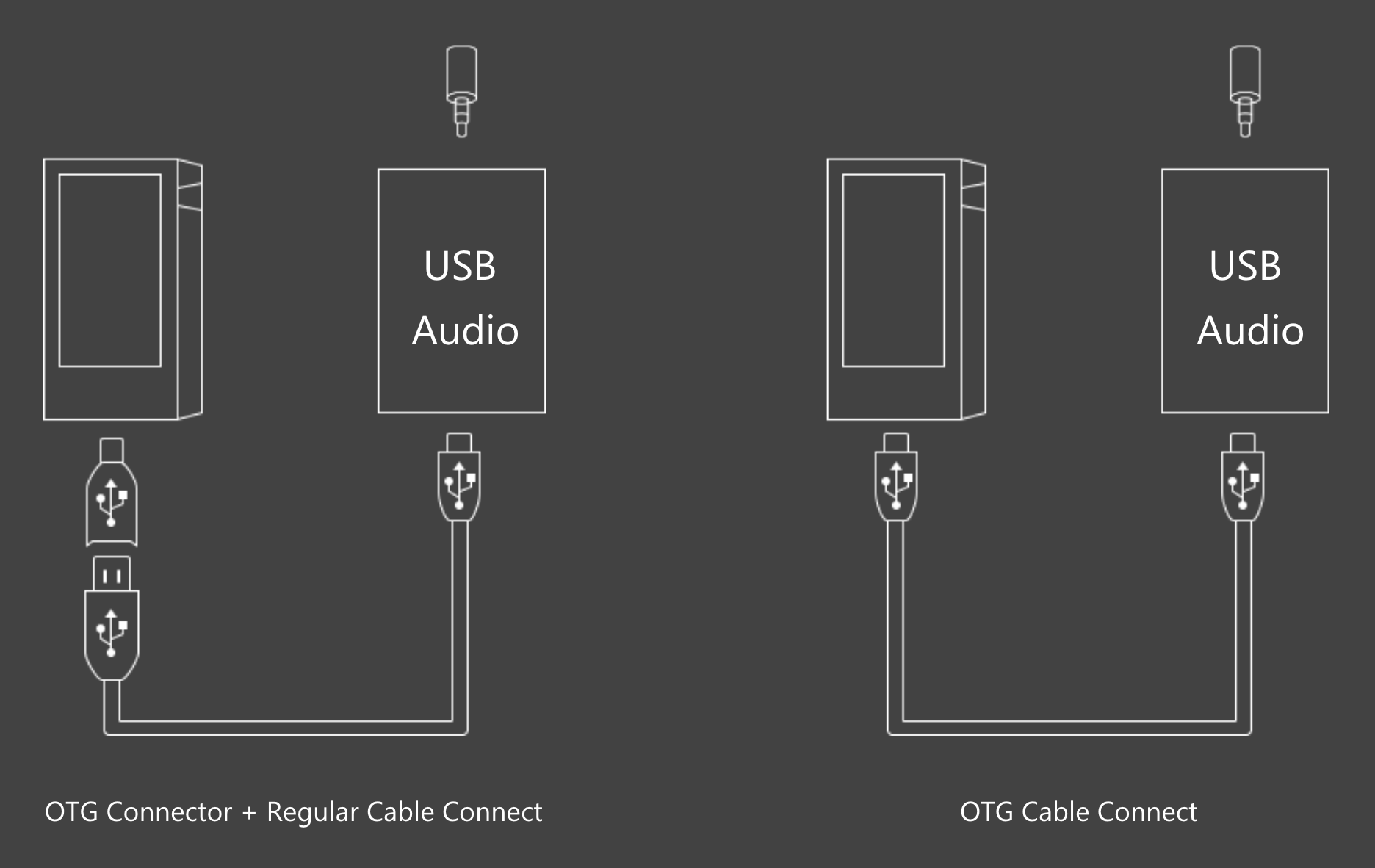 Ak70 Mkii Astellkern Us Online Shop Wiring Diagram Subwoofer Wire Svc 2 Ohm The Type Of Otg Cable To Connect With A Portable Amp Differs Depending On Specs An Is Not Included In Mk