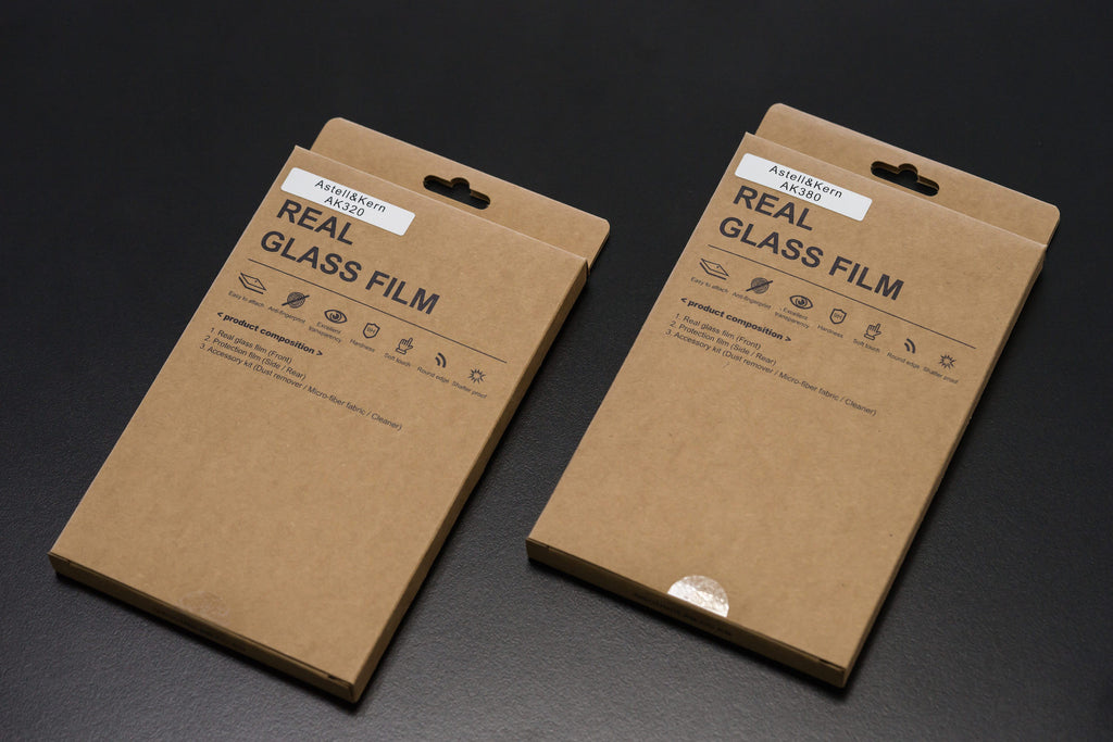AK380/320 Series Tempered Glass Screen Protector