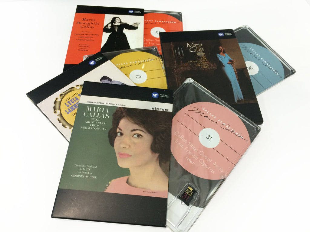 Maria Callas MQS Re-Mastered Complete Studio Recordings (1949 – 1969)