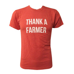 Thank A Farmer - Vintage Red