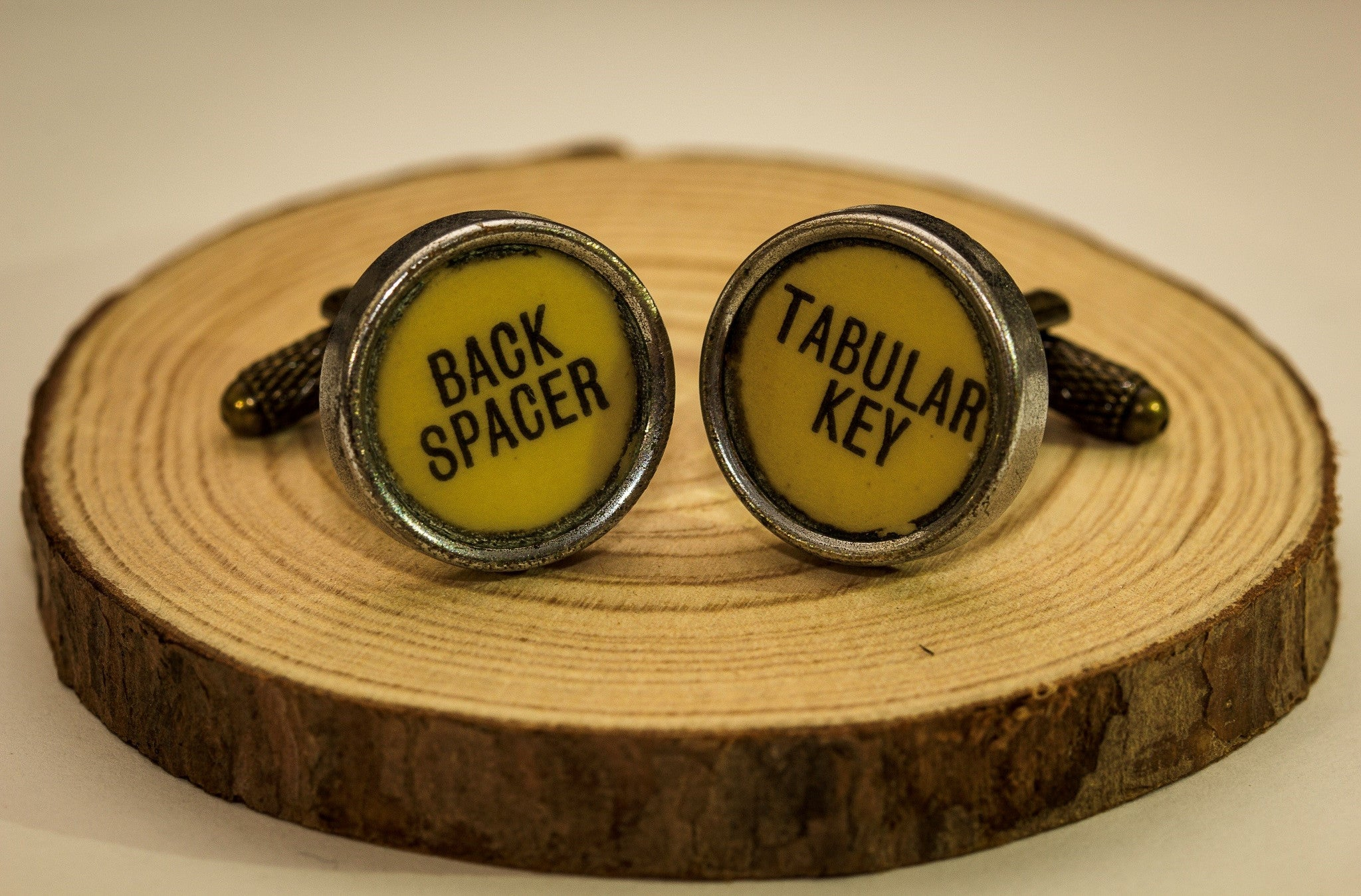Custom Product Type Writer Cuff Links