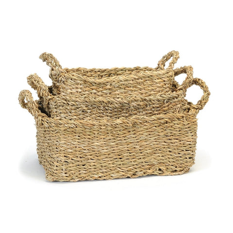 Baskets Seagrass Rect