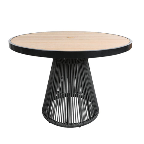 Cove SOL Teak & Rope Table Collection