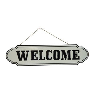 Wall Art Welcome Sign
