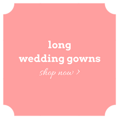 Shop long wedding dresses