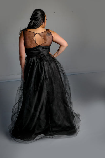 Adelaide Gown with Tulle Skirt