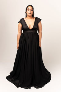 Nora Gown with Chiffon Skirt
