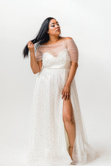 Custom wedding gowns for non-traditional brides