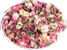 PINK ROSE PETALS calming tea