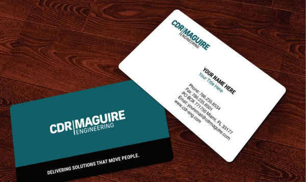 CDR MAGUIRE BUSINESS CARDS