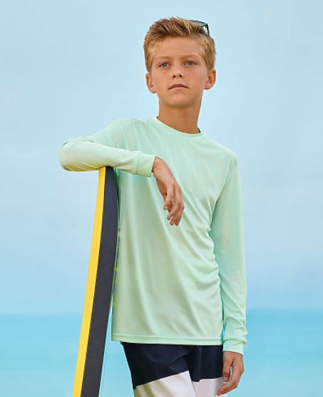 KIDS-Paragon Long Islander Long Sleeve Performance Tee