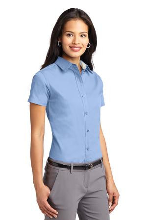 Broward Schools CTACE: Port Authority® Ladies Short Sleeve Easy Care Shirt. L508