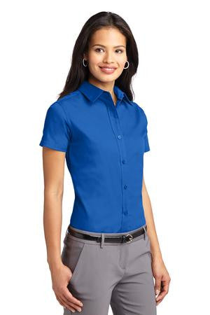 b1accbc9 Somerset Dade: Port Authority® Ladies Short Sleeve Easy Care Shirt ...